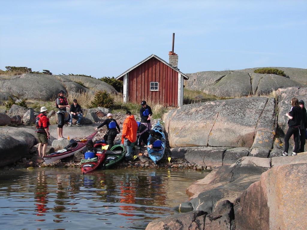 Paddling till Lågskär